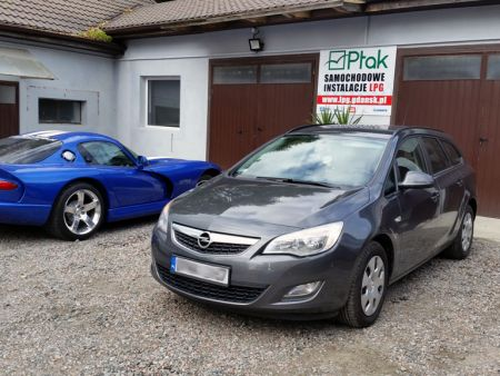 <strong>Instalacja LPG</strong> Opel  Astra IV J 4 1.6 115KM