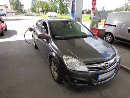 <strong>Instalacja LPG</strong> Opel  Astra 1.6l BRC