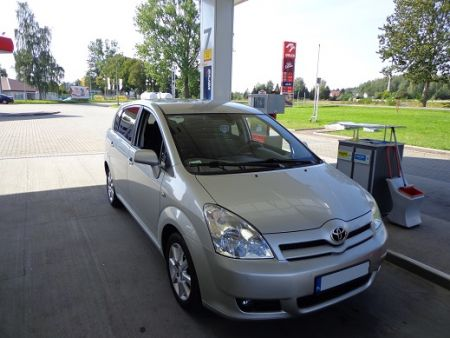 <strong>Instalacja LPG</strong> Toyota  Corolla Verso 1.8l LOVATO SMART