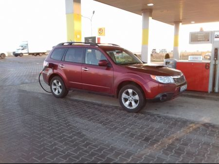 <strong>Instalacja LPG</strong> Subaru  Forester 2.5t BRC