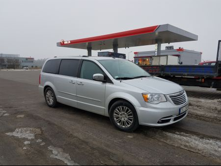<strong>Instalacja LPG</strong> Chrysler  Town&Country Voyager 3.6 VVT