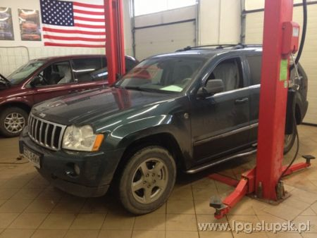 <strong>Instalacja LPG</strong> Jeep  Jeep Grand Cherokee WK 5,7 Hemi VSI Prins