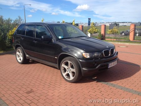 <strong>Instalacja LPG</strong> BMW  X5 6 cyl.