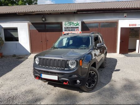 <strong>Instalacja LPG</strong> Jeep  Renegade Trailhawk 2.4 Multiair Lovato