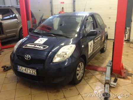 <strong>Instalacja LPG</strong> Toyota  Yaris 3 cylindry 1.0