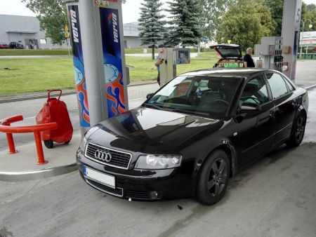 <strong>Instalacja LPG</strong> Audi  A4 1.8T LOVATO SMART