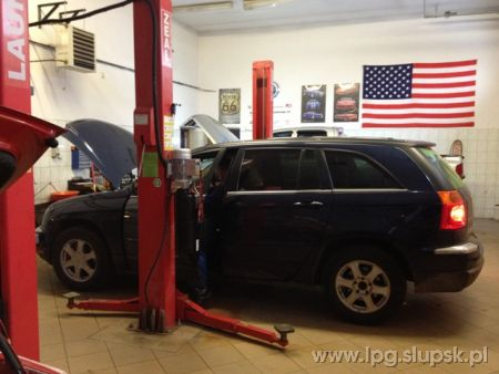 <strong>Instalacja LPG</strong> Chrysler  Pacifica 3.5 V6 KING