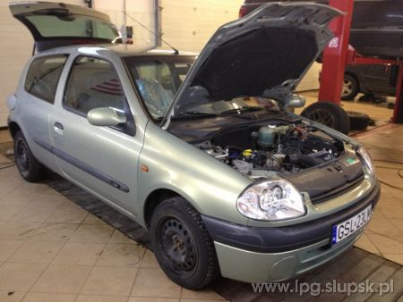<strong>Instalacja LPG</strong> Renault  Clio 1.4 MPI