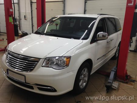 <strong>Instalacja LPG</strong> Chrysler  Town & Country Grand Voyager Stow n go 2013 Pentastar 3.6