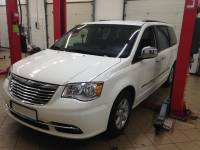 Instalacja LPG Chrysler  Town & Country Grand Voyager Stow n go 2013 Pentastar 3.6