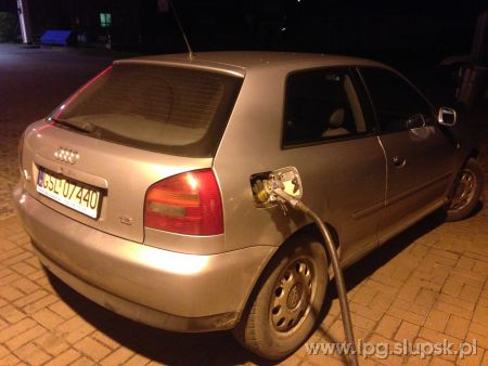 <strong>Instalacja LPG</strong> Audi  A3 sekwencja