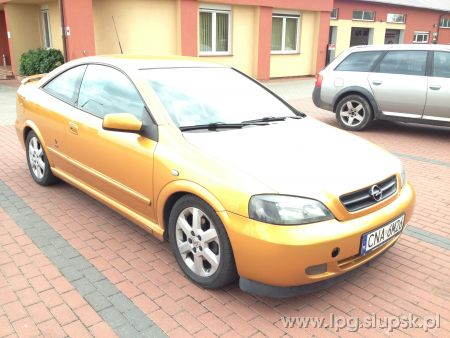 <strong>Instalacja LPG</strong> Opel  ASTRA Coupe