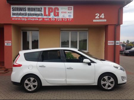 <strong>Instalacja LPG</strong> Renault  Scenic 1.4 TCe LPG