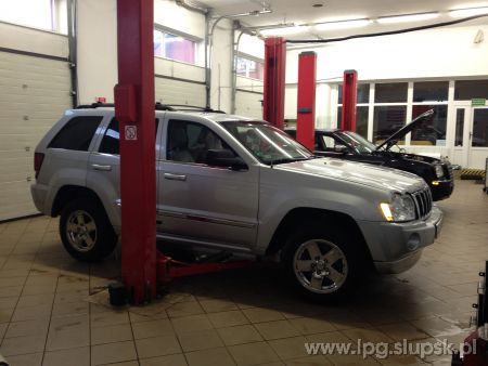 <strong>Instalacja LPG</strong> Jeep  Grand Cherokee WK WH 5,7 Hemi LPG
