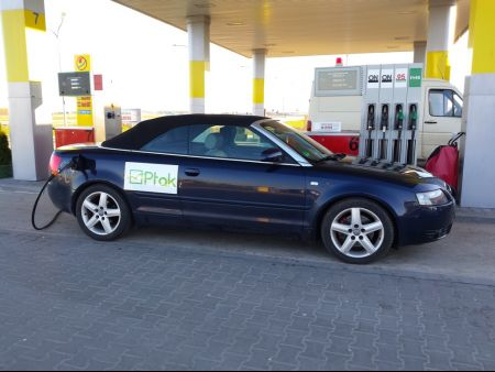 <strong>Instalacja LPG</strong> Audi  A4 Cabrio 3.0 V6 PRINS