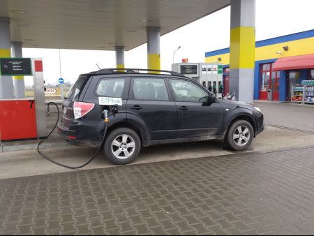 <strong>Instalacja LPG</strong> Subaru  Forester 2.0 Boxer