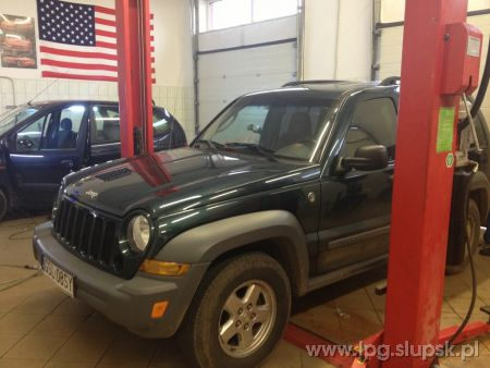 <strong>Instalacja LPG</strong> Jeep  Jeep Cherokee Liberty 3,7