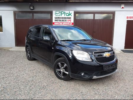 <strong>Instalacja LPG</strong> Chevrolet  Orlando 1.8 140KM BRC