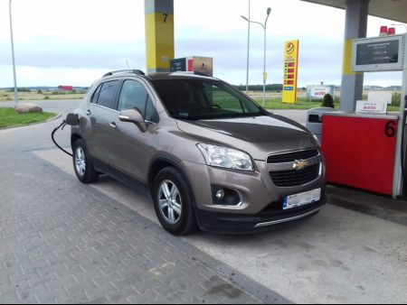 <strong>Instalacja LPG</strong> Chevrolet  Trax 1.6 115KM Lovato