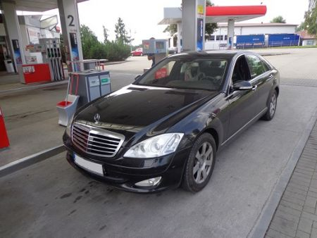 <strong>Instalacja LPG</strong> Mercedes-Benz  S350 3.5l Prins